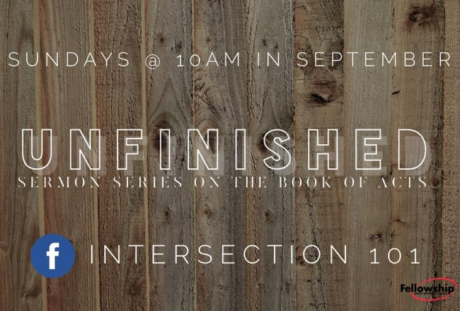 Unfinished 10AM Sermon Series
